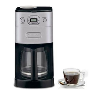 Cuisinart DGB625BCU Grind and Brew Coffee Maker